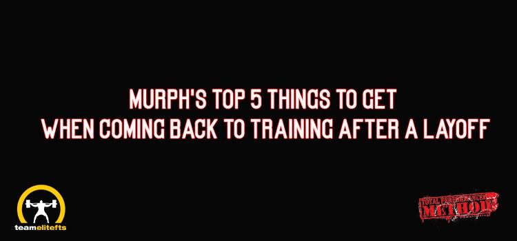 cj murphy, top 5 things