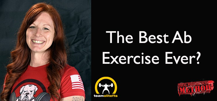 best ab exercise, cj murphy, candace puopolo, deadbug, elitefts.com, powerlifting