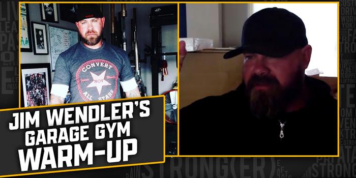 LISTEN: Table Talk Podcast Clip — Jim Wendler's Garage Gym Warm-up