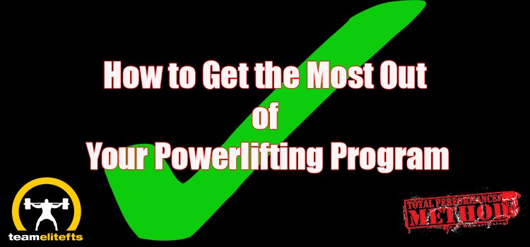 How to Get the Most Out of Your Powerlifting Program, CJ Murphy, elitefts, pullups, accessory