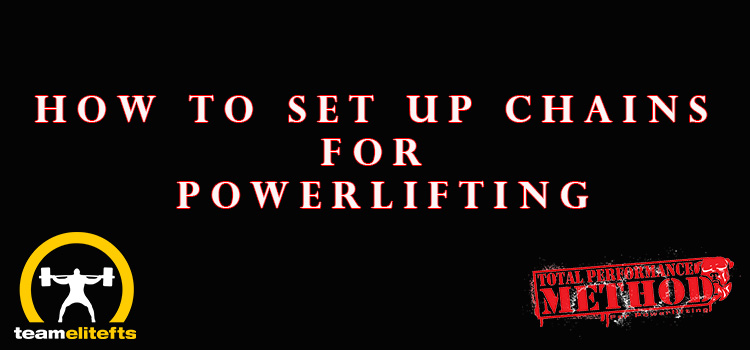 How to Set Up Chains for Powerlifting