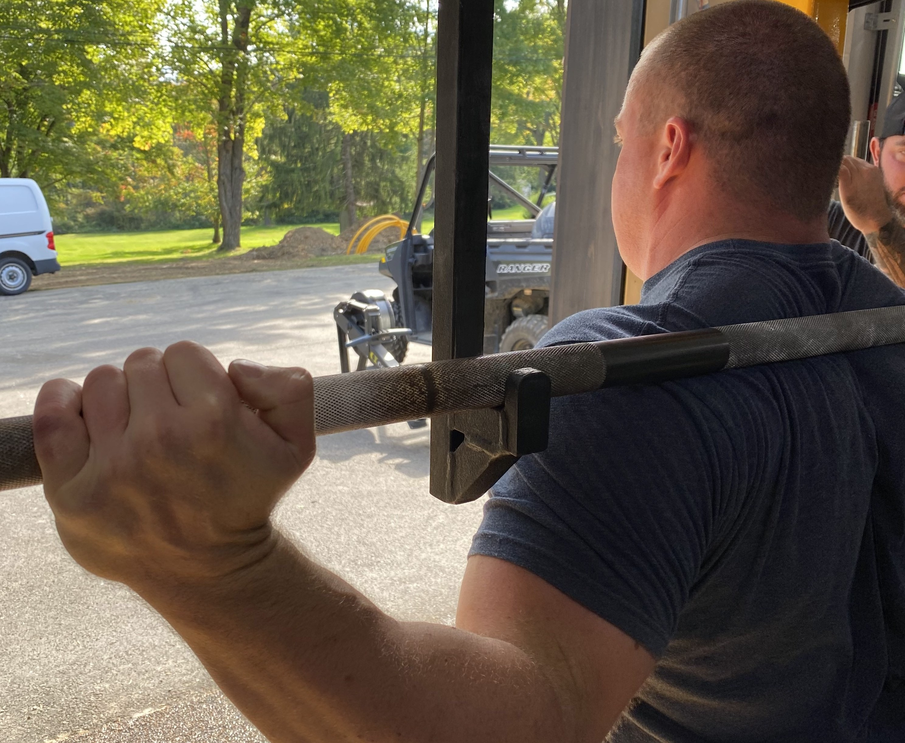 Use Your Grip To Help Your Squat