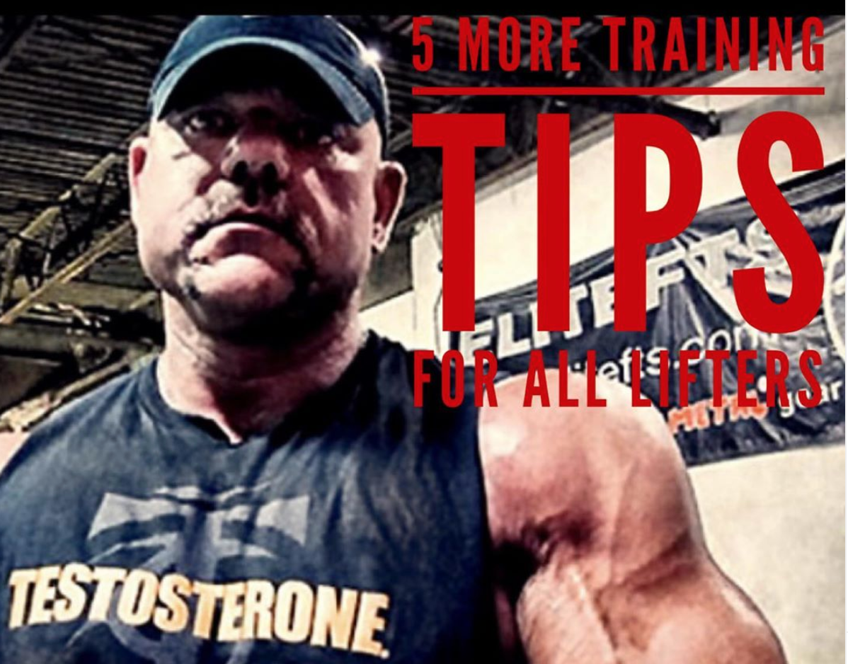 5 More Tips For All Lifters