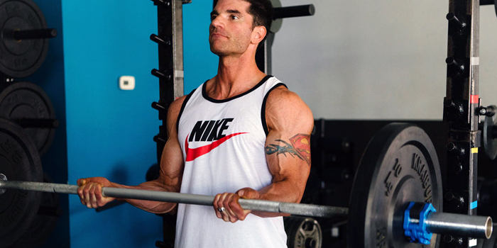 Bicep Barbell Finisher: Countdown Sets