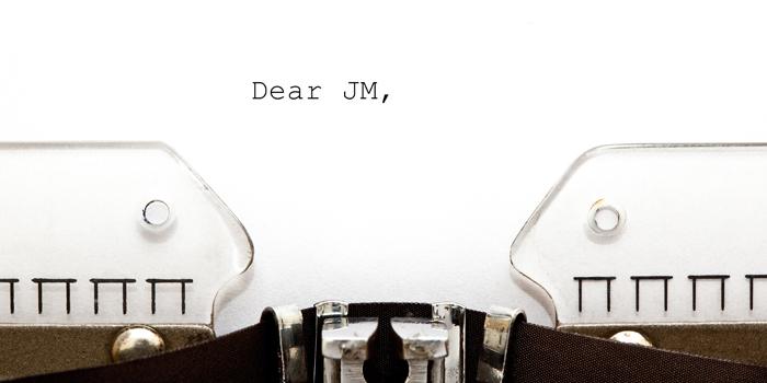 An Open Letter to JM Blakley