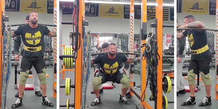 Bullet-Proof Knees for Strongman
